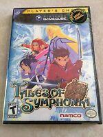 Tales Of Symphonia Player's Choice (nintendo Gamecube, 2004) Rare