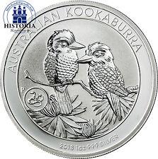 Australien 1 Dollar Silber 2013 Stgl Kookaburra Serie mit Privy Mark Schlange