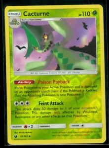 Pokemon SM Celestial Storm Card Cacturne 20//168