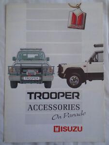 Isuzu-Trooper-Accessories-brochure-Apr-1990