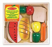 Melissa And Doug Cutting Food , New, Free Shipping on sale