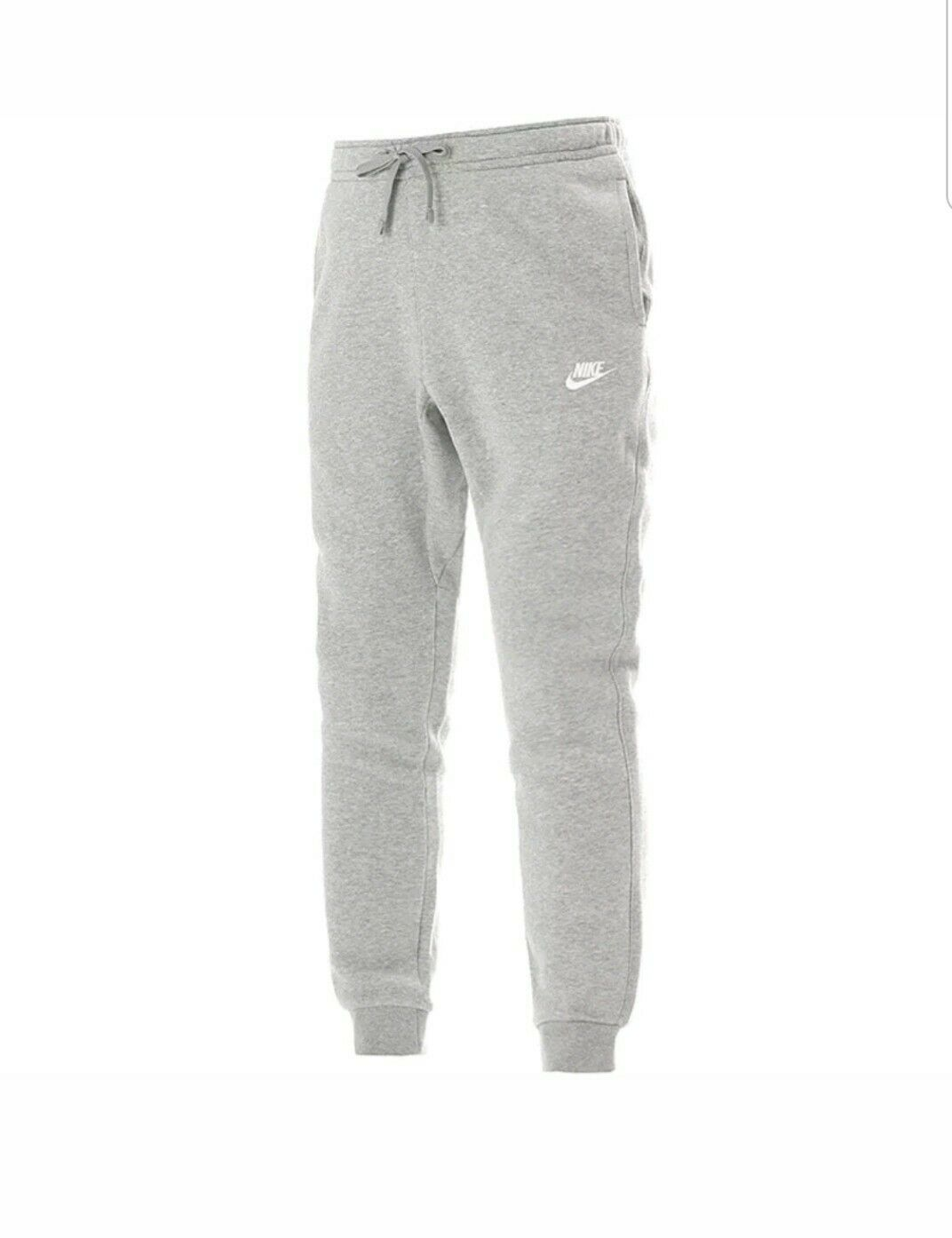 NIKE Mens Sportswear  Jogger Grey Heather White 804408-063 Size 4Xlarge  the best online store offer