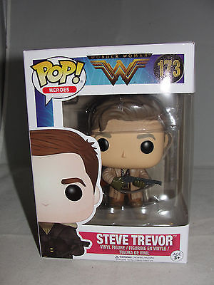 DC Comics Funko Pop Heroes Vinyle Wonder Woman Steve Trevor Figure