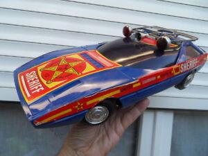 Italy Sheriff Ancien Jouet America Ellegi Car Toys Détails Sur Vintage Police Voiture SqUzMVGp