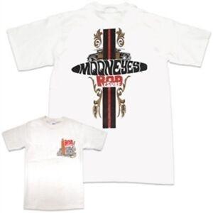 Mooneyes-Rod-n-Surf-Men-039-s-T-Shirt-Small-Hot-Rod-Kustom-VW-Bug-Bus-Woodie-Moon