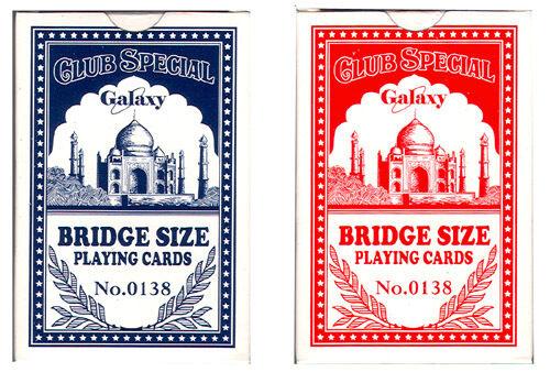 100 packs of 100% Plastic - Bridge Size Playing Cards (138) Wholesale
