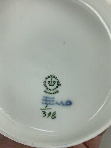 Andet, Royal Copenhagen Musselmalet riflet smørskål,
