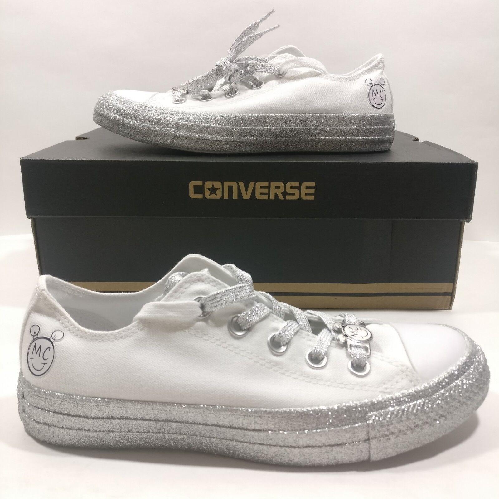 Converse X Miley Cyrus Chuck Taylor All Star Weiß Platinum Multi Größe 162238C