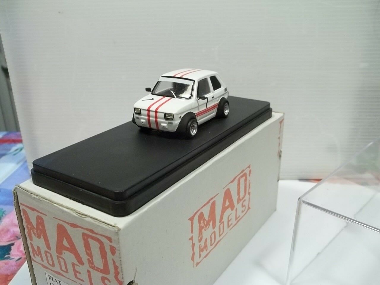 Mad models sc1 43 fiat 126 gara in salita cellara monte cascione 2007
