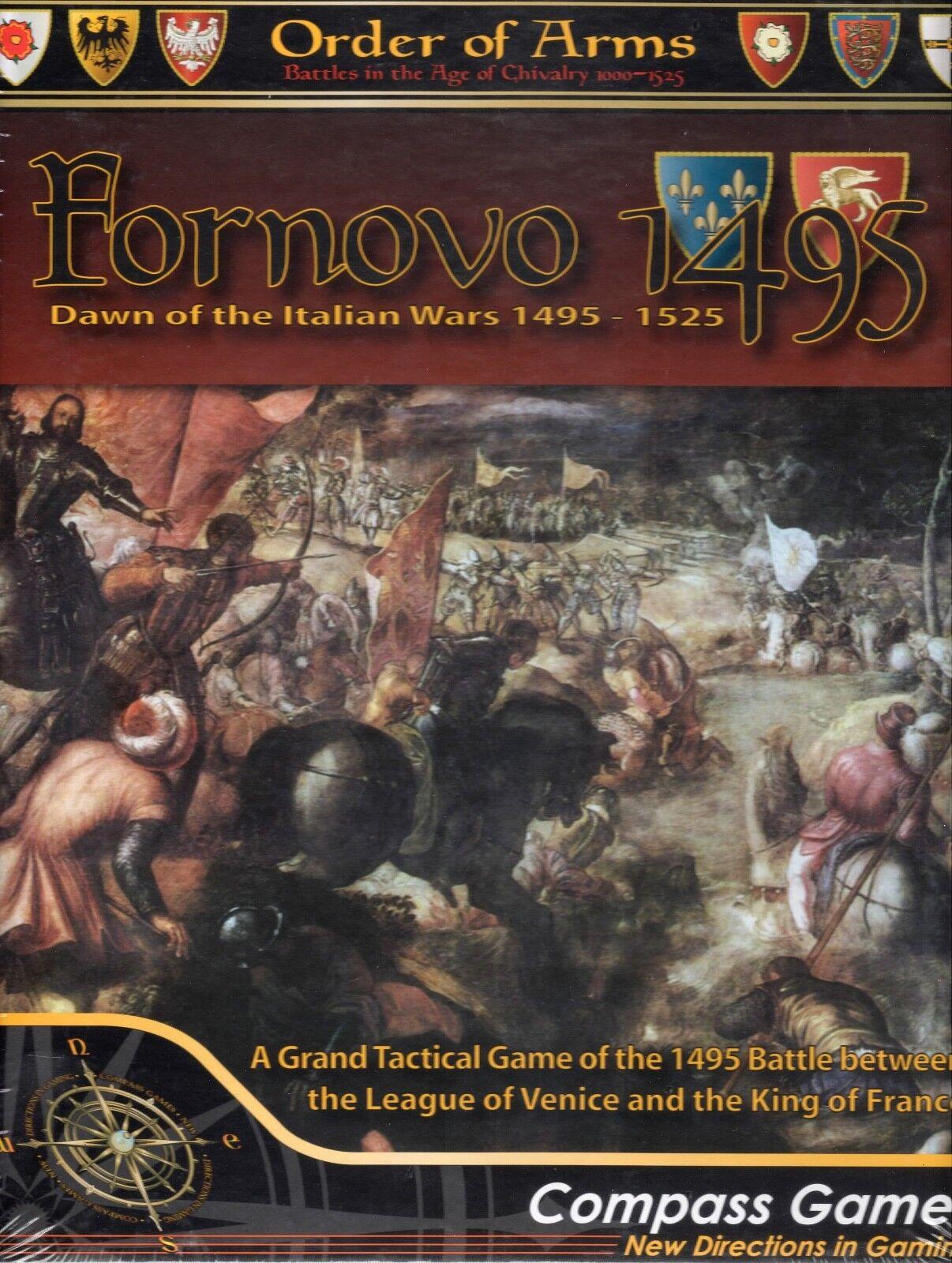 Kompass, um die spiele  waffen fornovo 1495 italienischen kriege neue wickeln