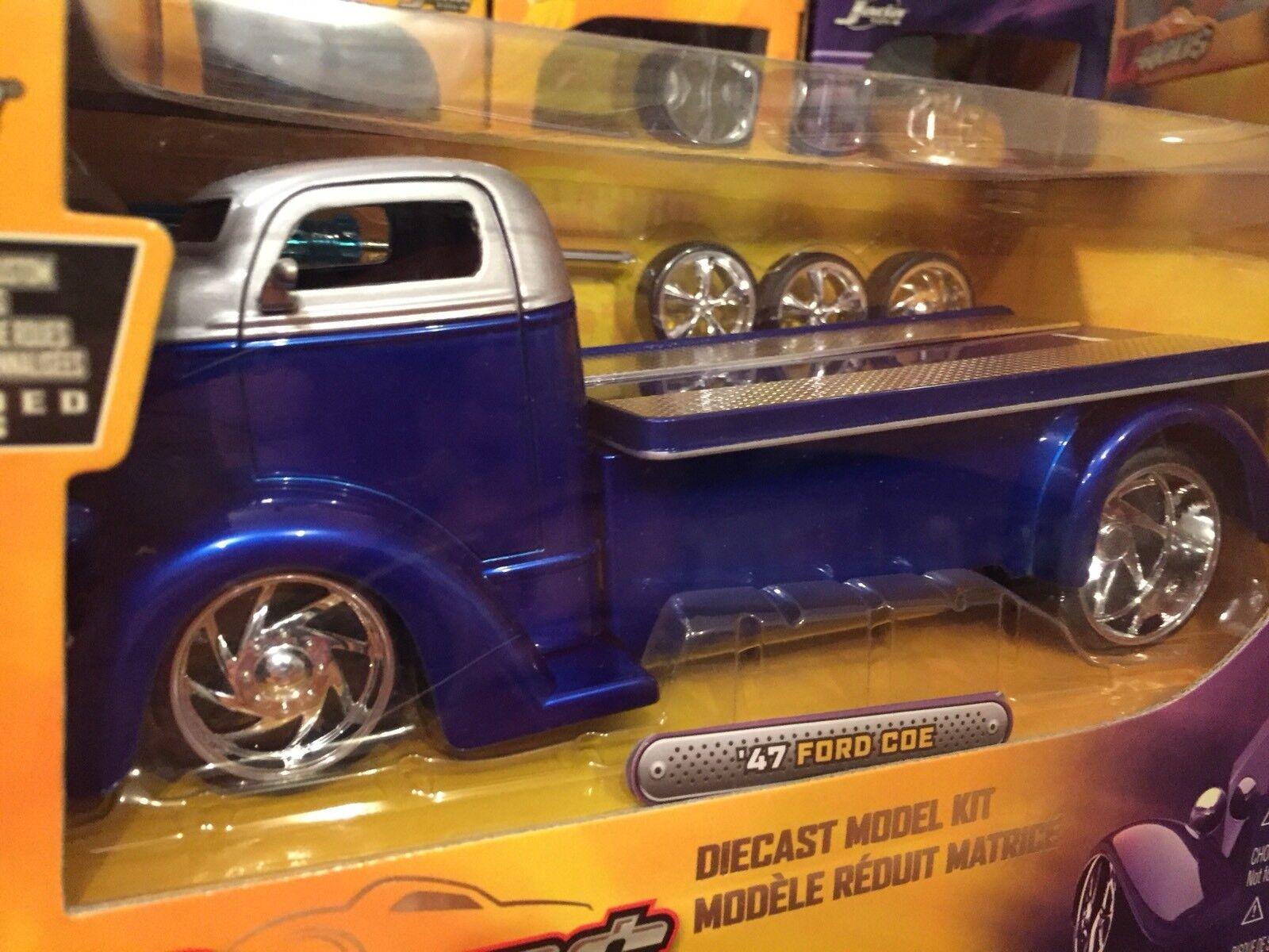 Jada 1 24 1947 Ford CEO HAULER HAULER Model Kit Item 55007