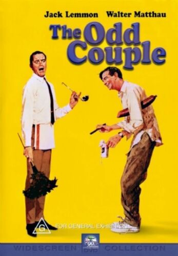 1 of 1 - Secondhand The Odd Couple Jack Lemmon. (REGION 4)  DVD very Good