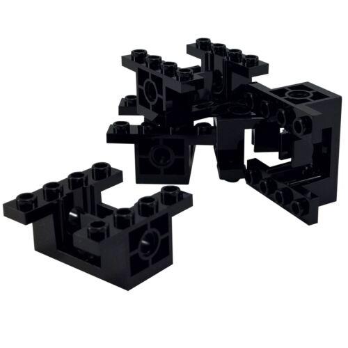 4 NEW LEGO Technic Gearbox 4 x 4 x 1 2//3 Black