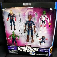 "Marvel Legends 3.75"" GUARDIANS OF THE GALAXY Toys R Us 5-pack TRU Groot StarLord"