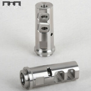 Muzzle Brake Extreme 1//2x28 Thread for .223 5.56 Brake .22 with Jam Nut