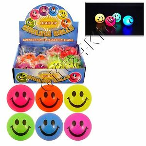 sensory toy great for party bag fillers Home, Furniture & DIY 5 x Assorted flashing balls Party Supplies
