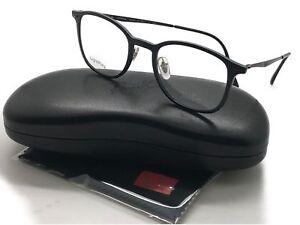 b1d52298071 Ray-Ban Black Tech RB7051 Light Ray 2077 47 Eyeglasses Italy frame ...