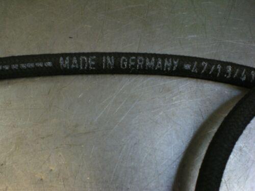 Porsche VW 7mm Cloth Braided German Fuel Gas Diesel Hose Line Volkswagen 3 ft.