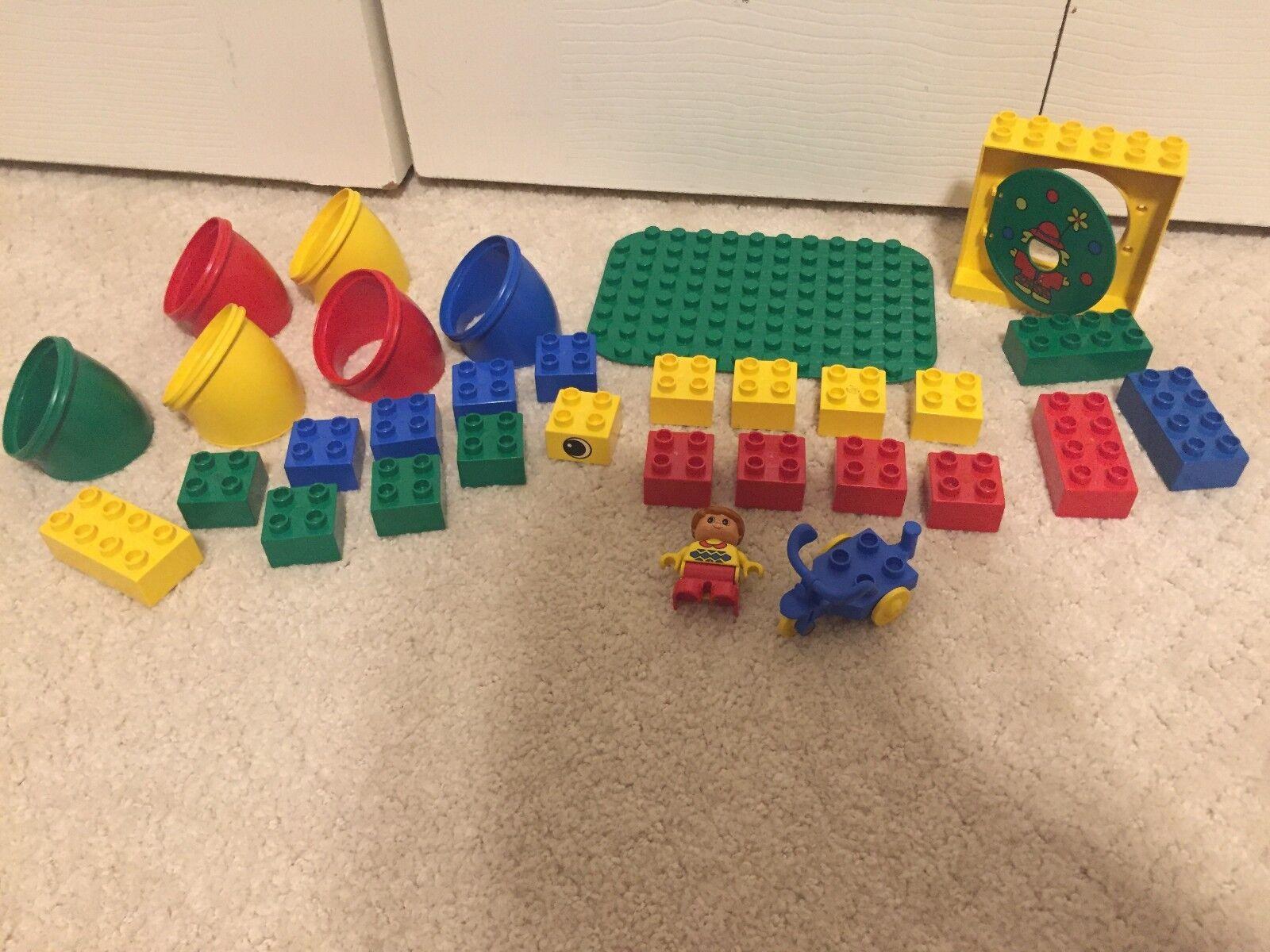 Vintage Lego Duplo 2222 - - - Tunnel Fun - RARE    206e57
