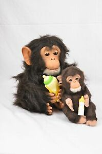 FurReal Friends Electronic Interactive Mum & Baby Chimps