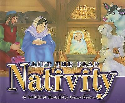 "1 of 1 - ""VERY GOOD"" Lift the Flap Nativity, David,Juliet, Book"