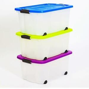 Aufbewahrungsbox-mit-Deckel-60-L-Kunststoffboxen-Box-Boxen-Kisten-Stapelboxen