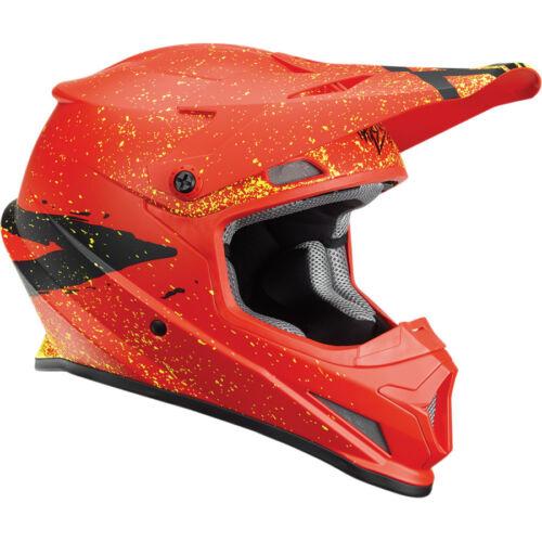 THOR 2018 S18 SECTOR HYPE HELMET RED BLACK MOTOCROSS MX CHEAP ENDURO NEW BMX MTB