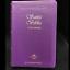 Biblia-Reina-Valera-1960-Letra-Grande-Mujer-Piel-Italiana-Morada-034-Personalizada-034 thumbnail 1