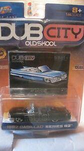 Dub Stadt Oldskool 1962 Cadillac In Schwarz 1:64 Skala-modelle 2002 Neu Dc1300 Schmerzen Haben Autos, Lkw & Busse Modellbau