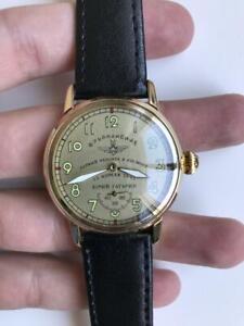 Ultra RARE Sturmanskie GAGARIN montre, Poljot montre vintage soviétique, Montre