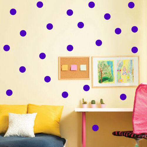 54pcs Polka Dot Wall Stickers Child Kids Vinyl Decor Spots Decal For Nursery Jm Home Décor Wandegar Home Garden