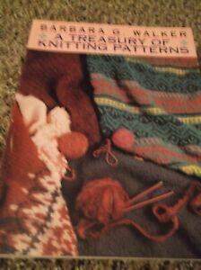 barbara walker a treasury of knitting patterns book | eBay