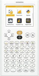 Calculatrice-Graphique-NumWorks-avec-appli-Python-Ecran-LCD-lycee-et-superieur