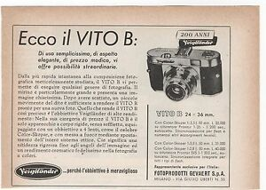 Pubblicita-1956-VOIGTLANDER-VITO-B-FOTO-PHOTO-advert-werbung-publicite-reklame