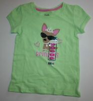 Falls Creek Green Sparkle Jewlery Princess Dog Top Tee Shirt Size 3t