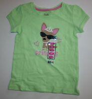 Falls Creek Green Sparkle Jewlery Princess Dog Top Tee Shirt Size 3t