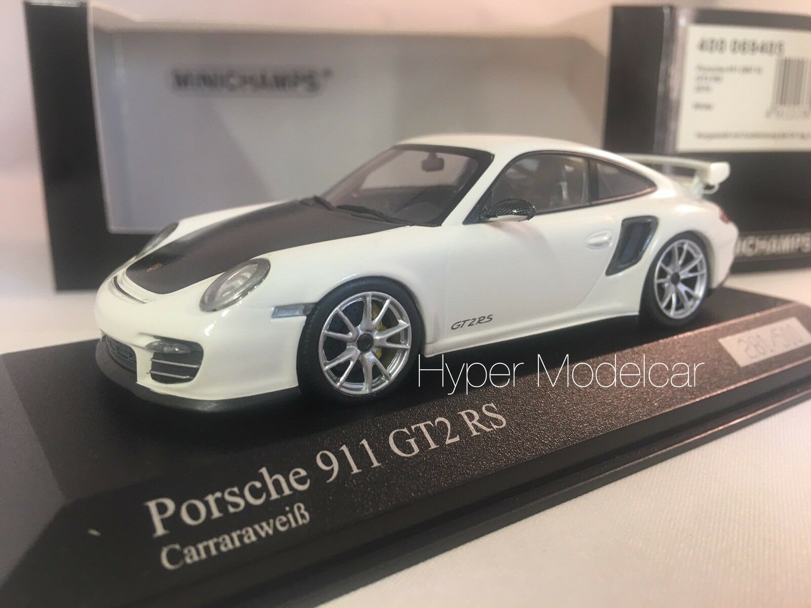MINICHAMPS 1 43 Porsche 911 (997-2) Gt2 RS Coupè 2010 bianca Art. 400069405