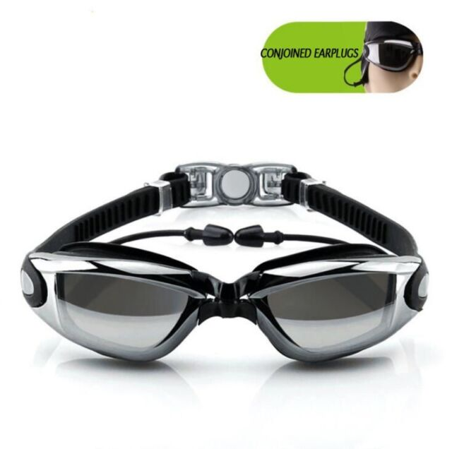 890a7aee767 New Anti-fog UV Waterproof Swim Swimming Goggles Glasses Adjustable Adult