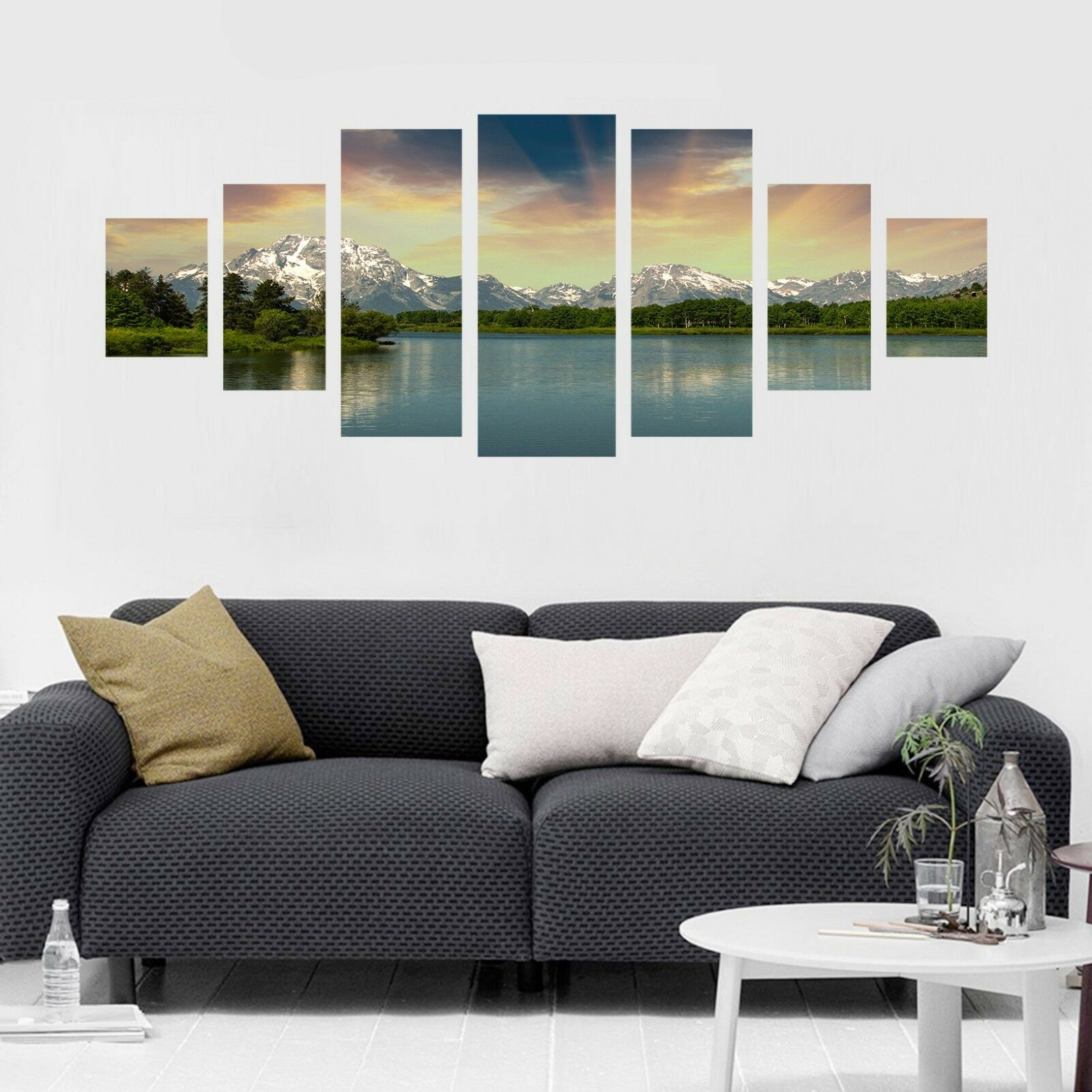 3D Sunset Mountain 546 Unframed Print Wall Paper Decal Wall Deco Indoor AJ Wall