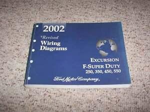 2002 Ford F250 Wiring Diagram : 2002 ford f250 electrical wiring diagram manual 7.3l diesel xlt xl
