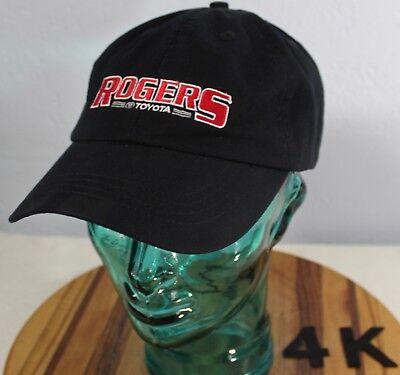 Rogers Toyota Lewiston >> Rogers Toyota Lewiston Idaho Hat Black Embroidered Adjustable Vgc 4k Ebay