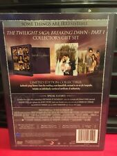 Twilight Saga Breaking Dawn Part 1 Target Limited 2 Disc DVD Flower Prop Promo
