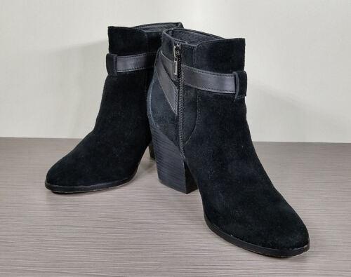 Cole Haan /'Minna/' Bootie Womens Various Sizes   $298 Black Suede