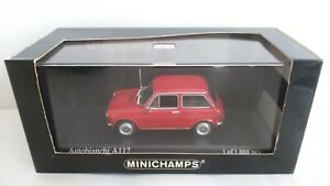 AUTOBIANCHI A112 1974 MINICHAMPS 1/43