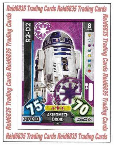 "Force Attax Universe: Base Cards #49 - #96 /""Topps/"" Star Wars Regular"