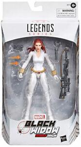 Marvel Legends 6 Inch Figure Exclusive - White Suit Black Widow Deadly Origins