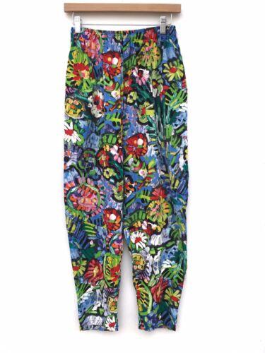 Jams World Colorful Painted Floral Surfline Loose… - image 1