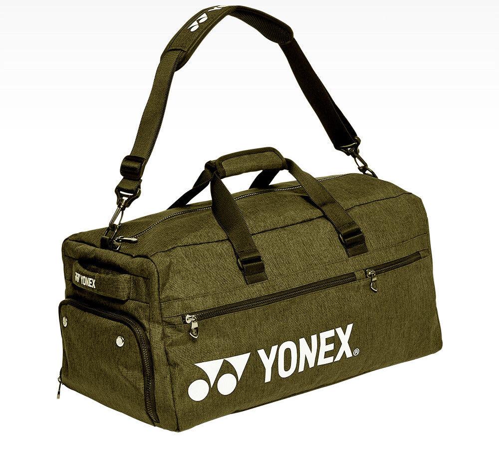 Yonex Tour Bolsa De Deportes Bolsa badmionton Tenis Squash Raqueta Raqueta de Color caqui 99BA002U