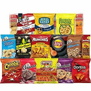 Food-Care-Package-Snack-Chips-Cookies-amp-Crackers-Variety-assortment-40-Count