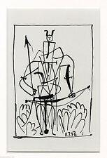 PABLO PICASSO - El espacio y la flauta. Ciclo Tardieu. Edicion limitada 1600 eje